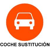 coche de sustitucion