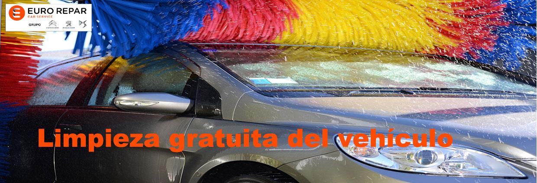 lavado gratuito del vehiculo