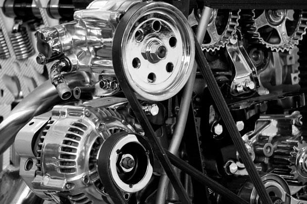 fotografia de un motor
