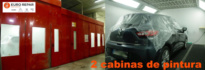 2 cabinas de pintura